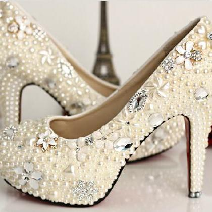 Cool And Girly Peals Highe Heel, Be..