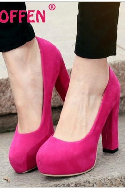 Sexy High Heels Fashion Shoes In 3 Colors